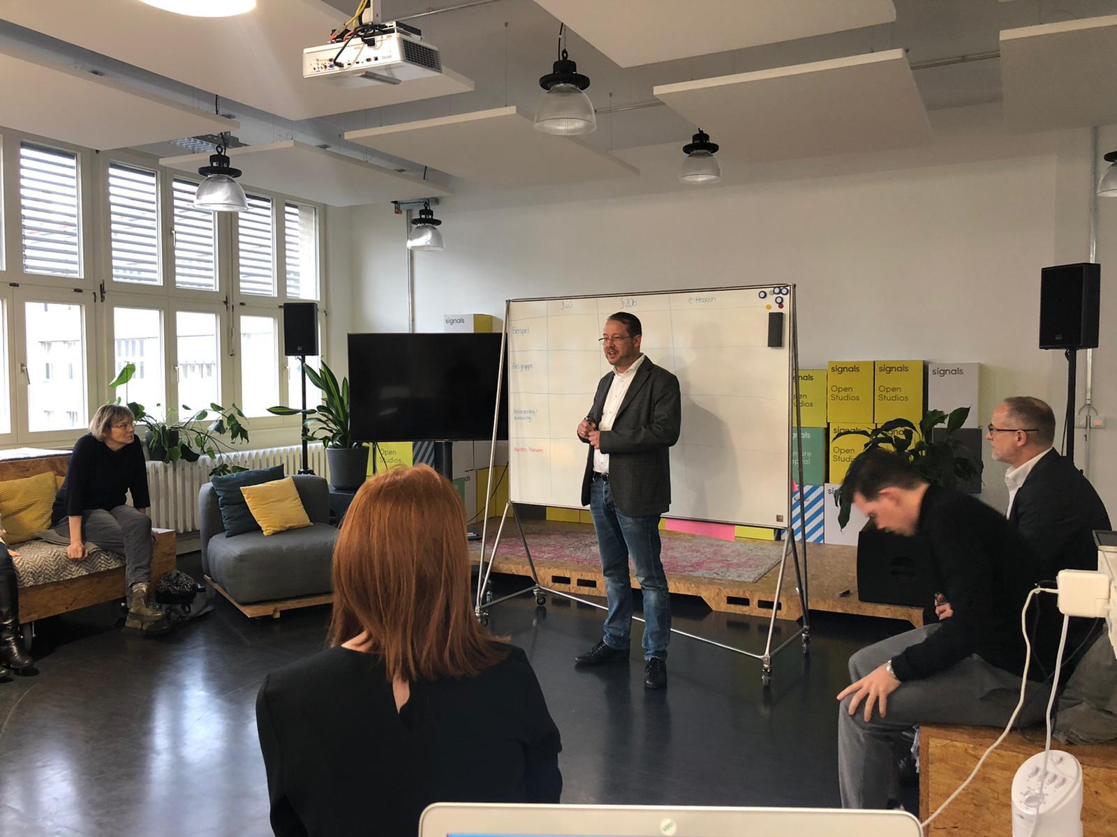2. Treffen der Projektgruppe E-Health