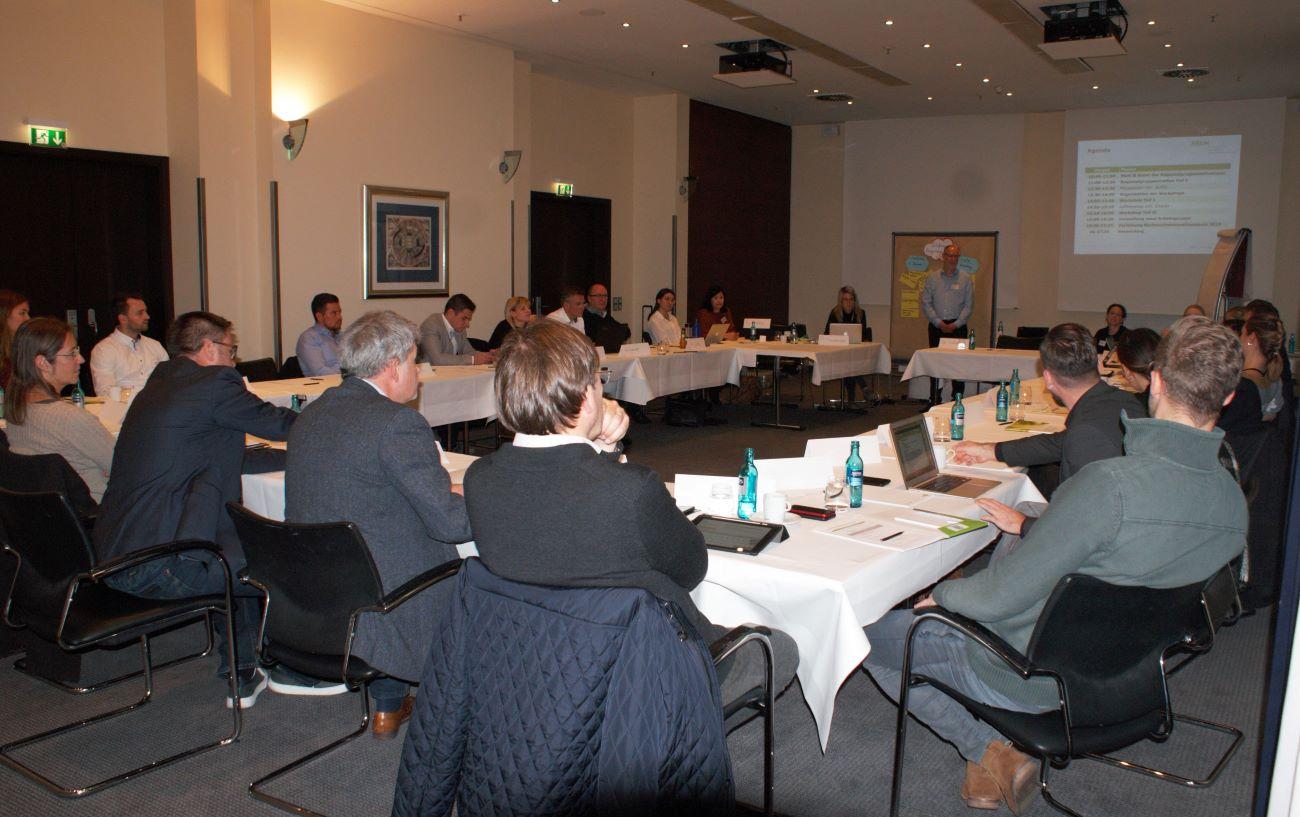 Deutschlandweites Regionalgruppentreffen des BBGM in Frankfurt