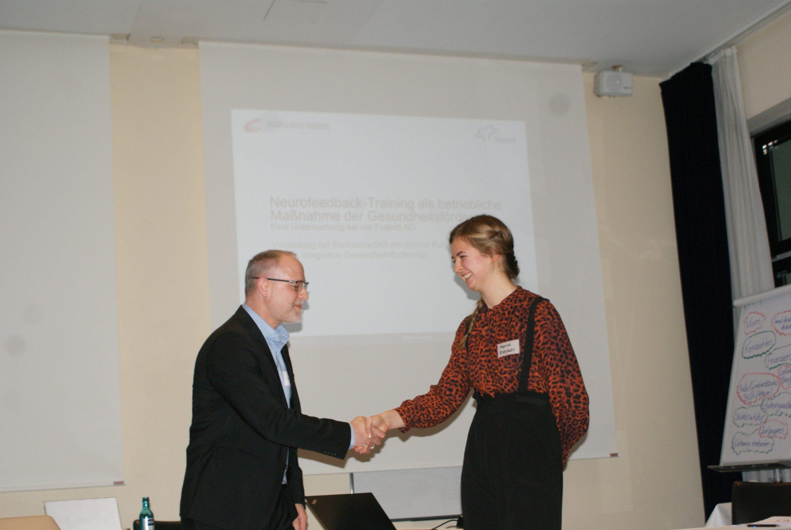 Verleihung des Nachwuchsinnovationspreises 2019
