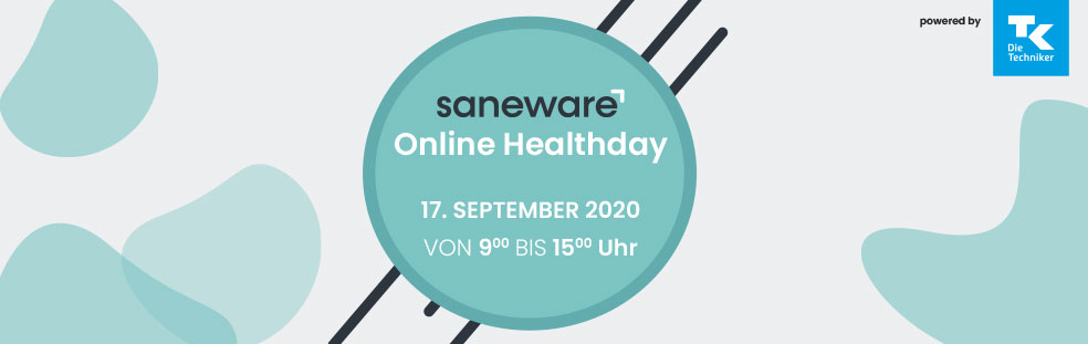 Saneware Online Health Day 2020 powered by TK