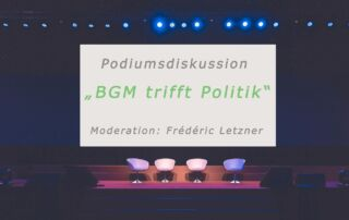 BGM trifft Politik